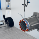 When impregnating electric motors by trickling, the progressive cavity technology, on which ViscoTec dispensing systems are based, ensures the best results