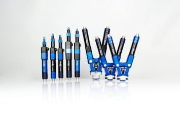 Preeflow eco-PEN and eco-DUO dispensers for the application of fluids and pastes in the µl range
