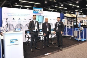 ViscoTec America Team at the Pacific Design & Manufacturing