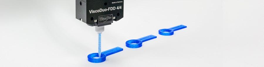 3D Druck von Fluiden und Pasten, 3D printing of fluids and pastes
