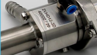The dosing pump with the serial number 40,000 in the ViscoTec production.