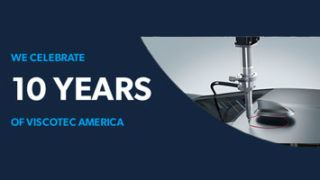 We celebrate 10 years of ViscoTec America - Banner