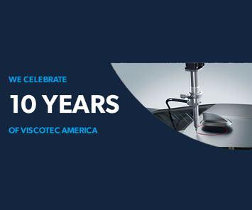 We celebrate 10 years of ViscoTec America - Banner