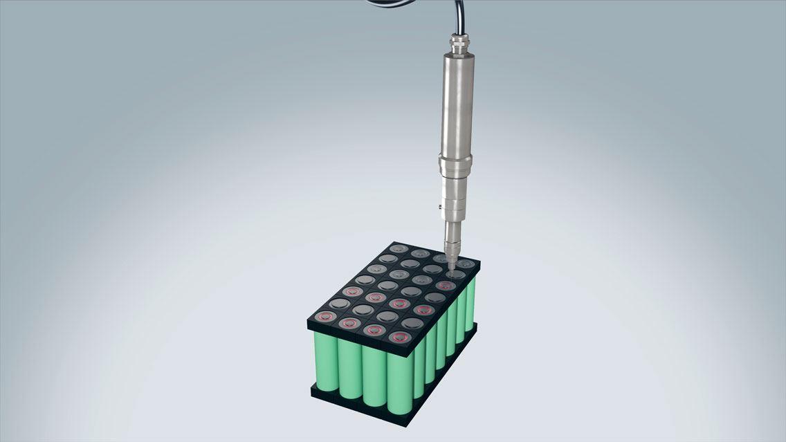 Batteriepackfertigung für die E-Mobilität mit ViscoTec Dosiertechnik