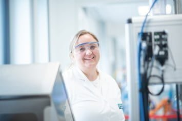 Annemarie Brandstetter, medical technology engineer and deputy head of the Hygienic Solutions department at ViscoTec, contact: medical@viscotec.de