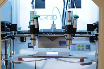 3D-Drucker für Flüssigmaterialien (Foto: CR-3D)