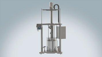 Entleersystem ViscoMT-XM Hygienic