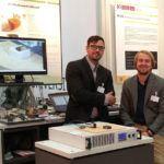 Die beiden Forscher Johannes Rudolph und Fabian Lorenz (Bild: TU Chemnitz)