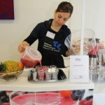 Smoothies at the health day at ViscoTec