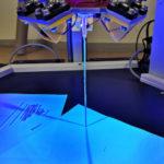 3D Druck für den Weltraum: Druckvorgang eines Stabes