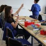 """Girls Day: Bau eines """"heißen Drahtes"""""""