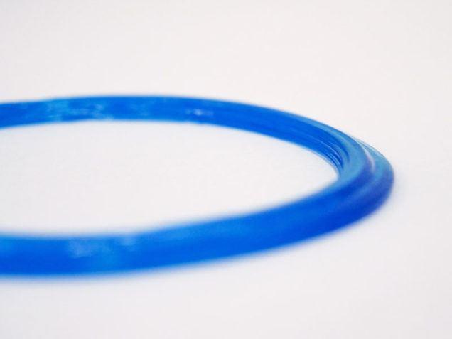 3D-gedruckte Dichtlippe aus Silikon