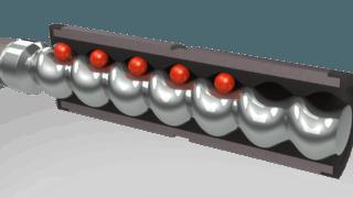 ViscoTec Endloskolben-Prinzip nach Exzenterschnecken-Technologie