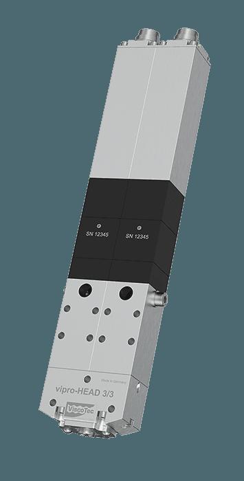 3D 2-component print head