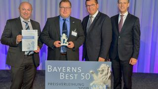 Bayers Best 50 Preisverleihung Gruppenbild 2018