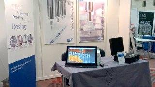 ViscoTec at the Pharma congress in Duesseldorf