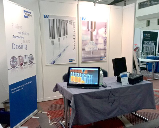 ViscoTec at the Pharma congress in Duesseldorf