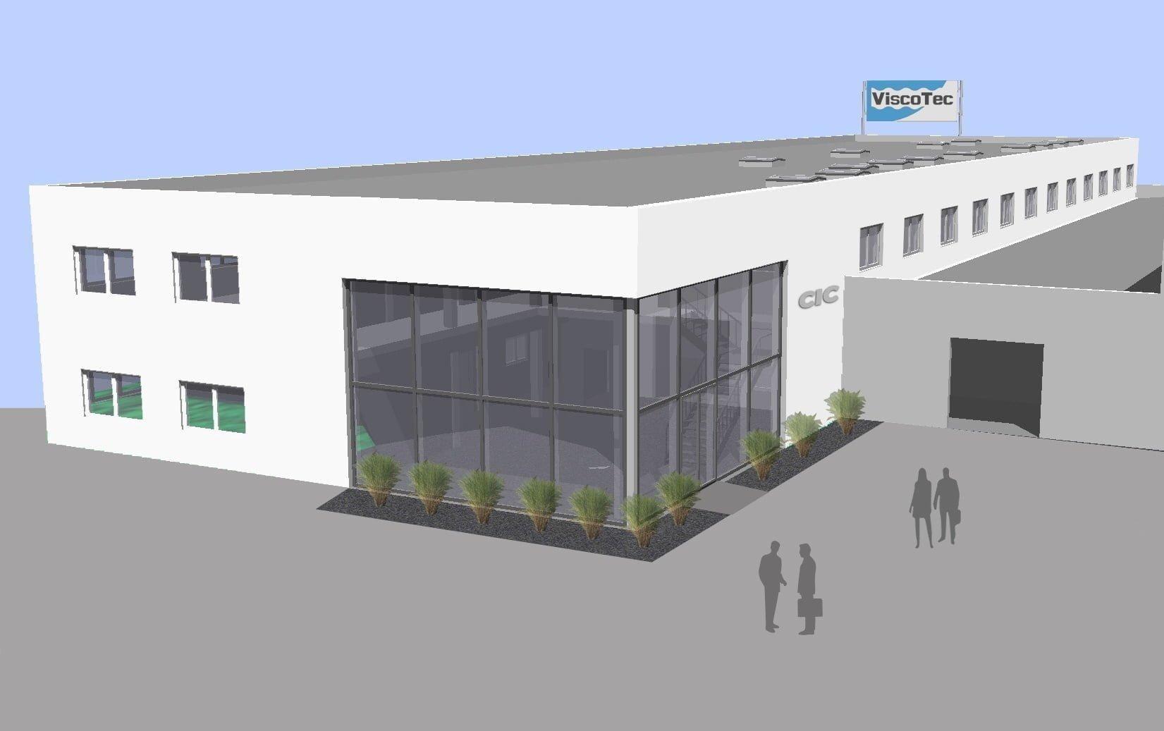 Geplante Erweiterung der ViscoTec Pumpen- u. Dosiertechnik GmbH