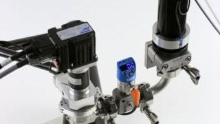 ViscoTec Kartuschenauspressung und Vordrucküberwachung