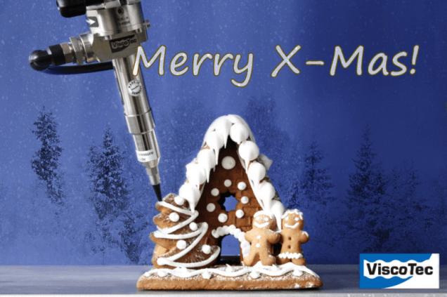 ViscoTec Lebkuchenhaus Weihnachten Neujahr 2015