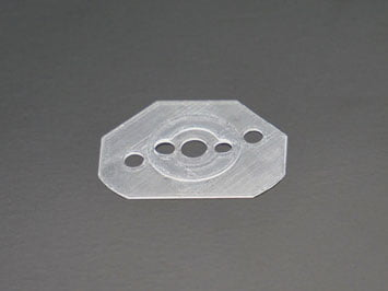 Seal made of 2-component silicone