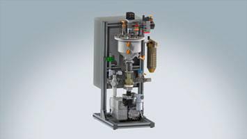 Aufbereitungssystem und Zuführsystem für flüssige Materialien ViscoTreat-Im