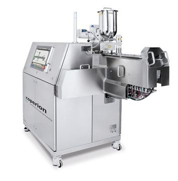 The ZSK 18 MEGAlab pharmaceutical extruder from Coperion K-Tron (Switzerland) LLC.