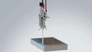 Captures d'écran de la vidéo - Application d'un composé d'enrobage thermoconducteur.