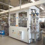 Gesamtanlage für automatisierte Prozesse bei ifm ecomatic in Kressbronn