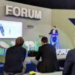 Johannes Leier von ViscoTec als Sprecher auf dem JEC Forum