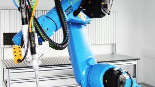 Der kuka Roboter KR 30 Nahaufnahme