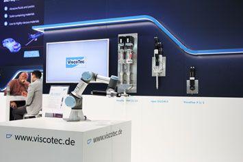 Die ViscoTec Produktneuheiten auf der productronica 2020 in München