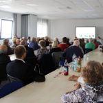 Seniorenbesuch bei ViscoTec - Vortrag mit Georg Senftl