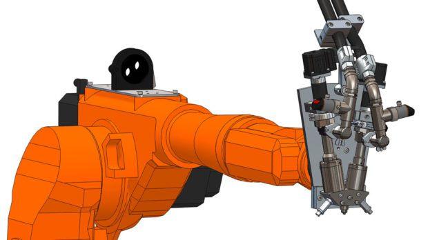 ViscoTec Dosiertechnik für 2K-Epoxidharze zum Verkleben von Bauelementen oder Abdichtungsanwendungen, 2K-Polyurethane zum Vergießen, 2K-Polysulfide zur Herstellung von Dichtkappen oder Kantenschutz uvm.