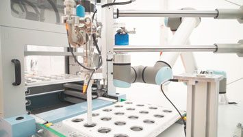 ViscoTec potting solution for Fichter-Maschinen