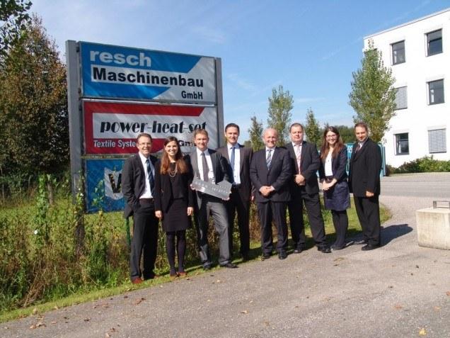 ViscoTec Besuch Bürgermeister Töging