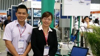 Viscotec at the nepcon exposition in vietnam