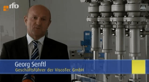 Georg Senft TV interview at the rfo