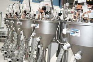 Zuführsystem für niedrig- bis hochviskose Flüssigkeiten